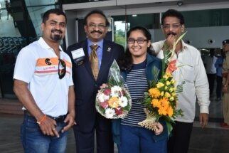 Aakanksha Hagawane U-16 World Chess champion1